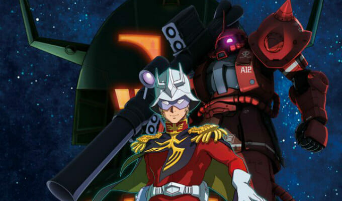 "Hulu Adds ""Mobile Suit Gundam The Origin"" in May 2018"