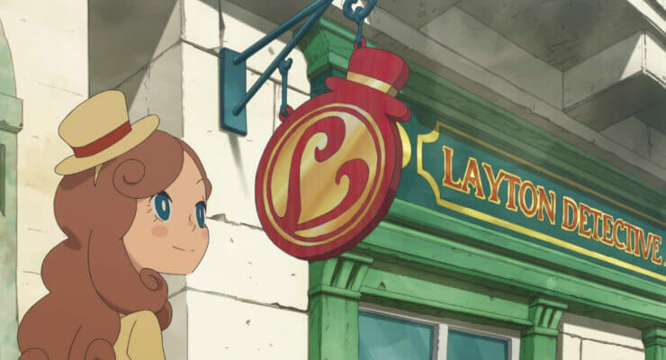 """Layton's Mystery Journey"" Anime Gets First Teaser Trailer"