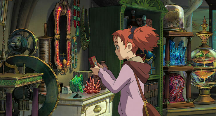 "Win a ""Mary and The Witch's Flower"" Prize Pack, Plus A Pair of Tickets to the Premiere!"