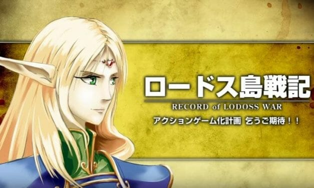 Four New Projects Announced for Record of Lodoss War 30th Anniversary Celebration
