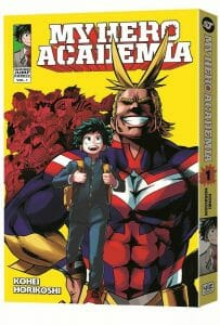 My Hero Academia Manga Volume 1 Cover