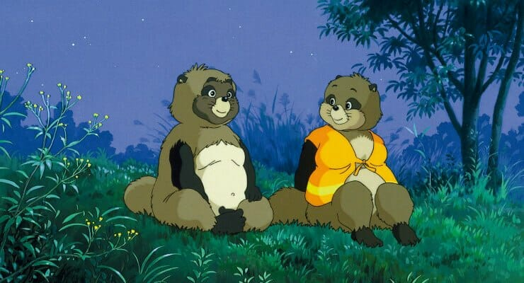 Win a Pair of Tickets to See Isao Takahata's Pom Poko