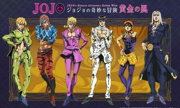 JoJo's Bizarre Adventure: Golden Wind Gets Anime Adaptation in October 2018