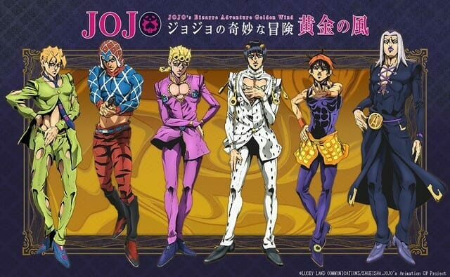 Jojo's Bizarre Adventure: Golden Wind Gets New Trailer, Visual, Premiere Date