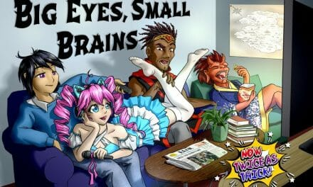 "Anime Leaps off the Screen in New Tabletop RPG, ""Big Eyes, Small Brains"""