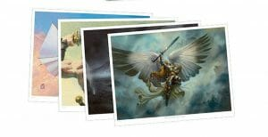 The Art of Magic: The Gathering: Concepts & Legends