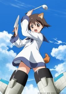 Strike Witches 501st Unit Taking Off Anime Visual