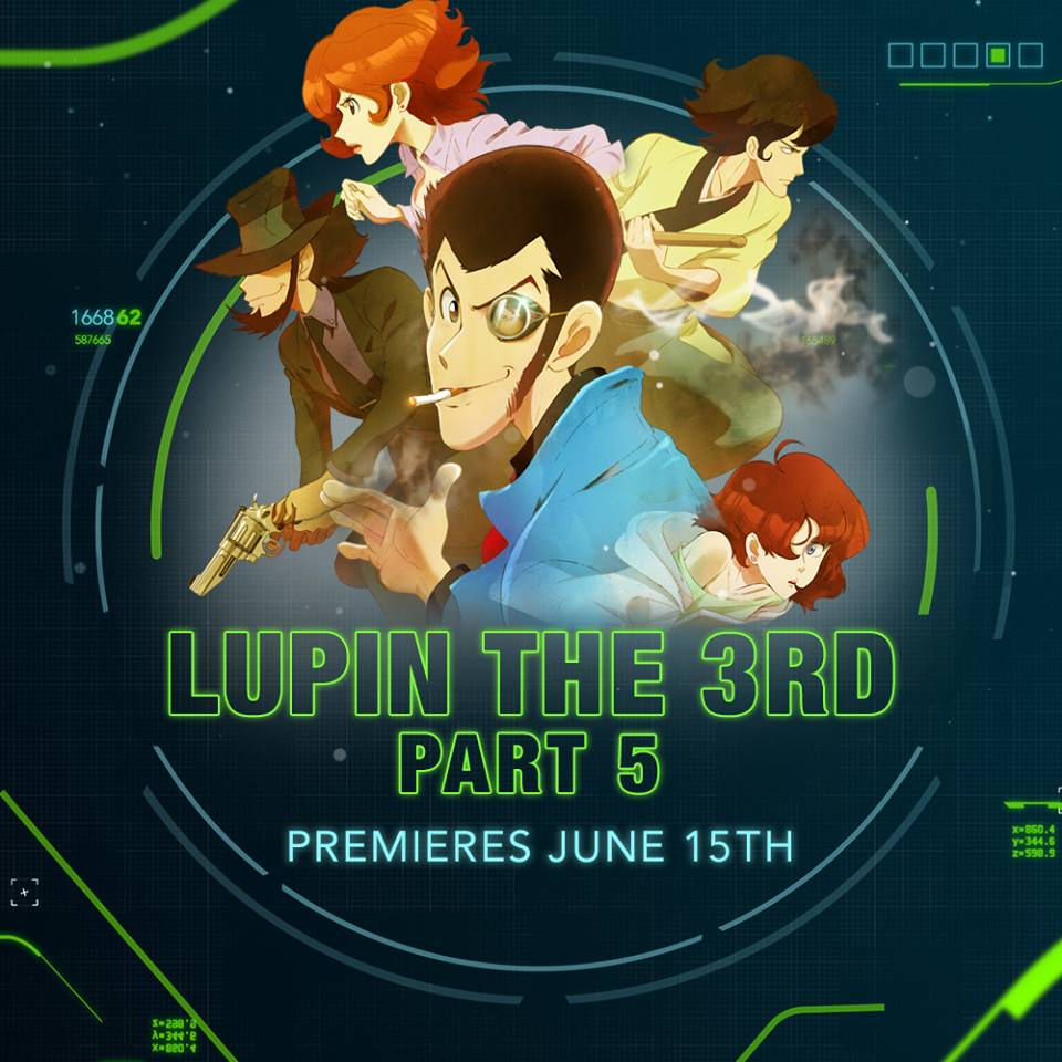 Lupin The Third Part 5 Toonami Announcement Visual
