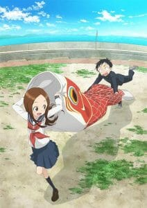 Karakai Jozu no Takagi-san Season 2 Visual