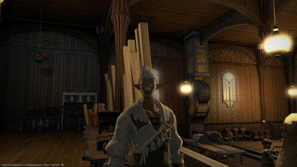 Front-facing shot of Beatin in Final Fantasy XIV