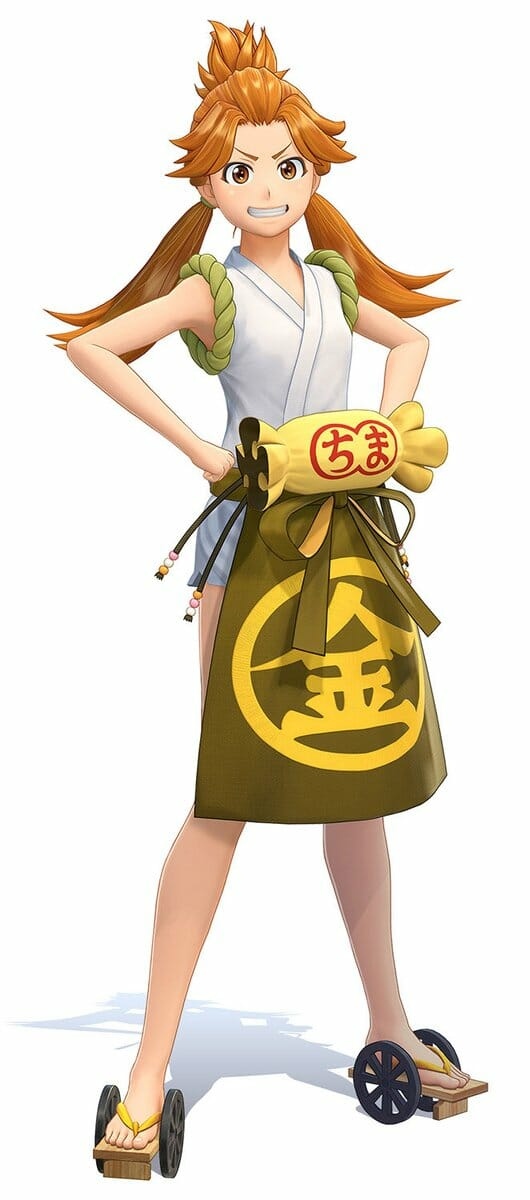 Project Sakura Wars Character Visual - Komachi Ooba