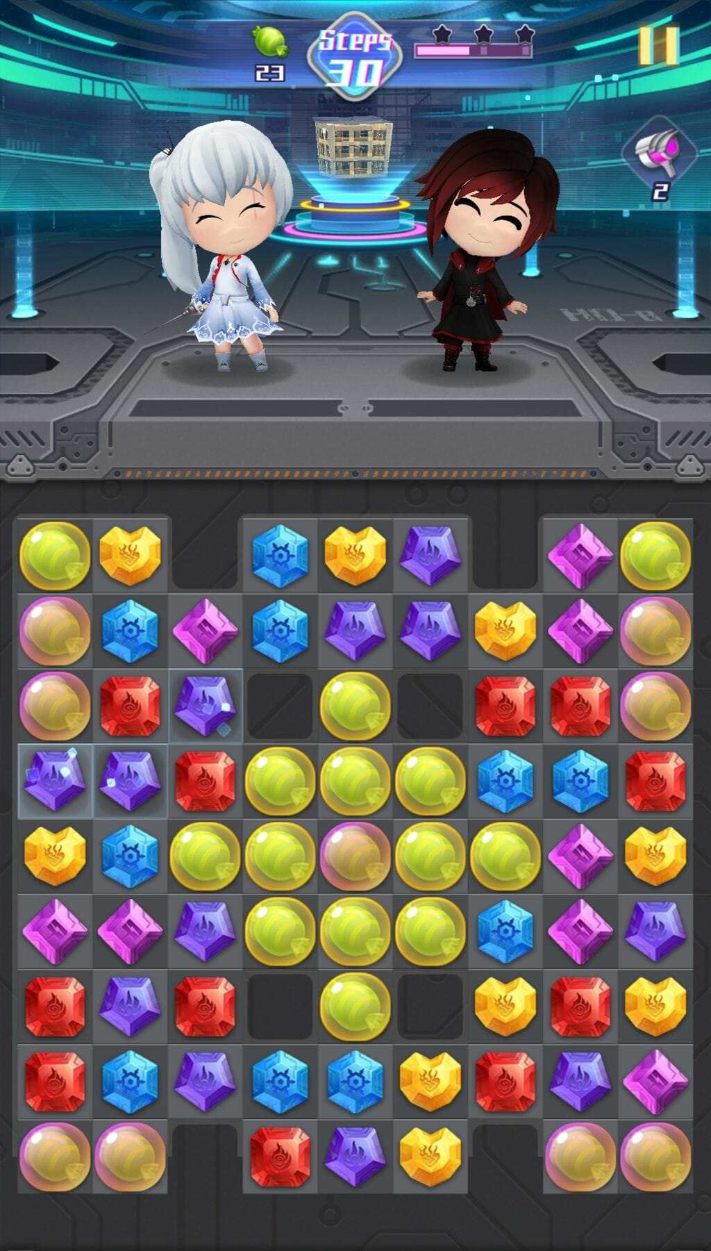 Crunchyroll Games Announces RWBY: Crystal Quest Mobile Game