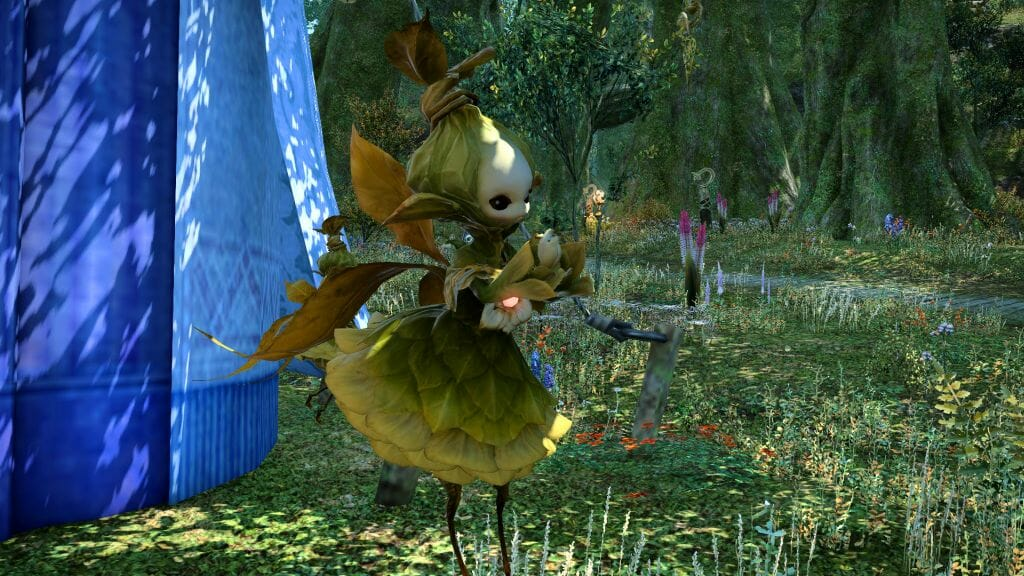 Komuxio the Sylph in Final Fantasy XIV