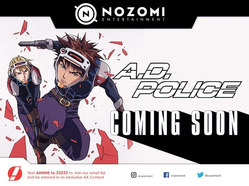 A.D. Police Anime Visual