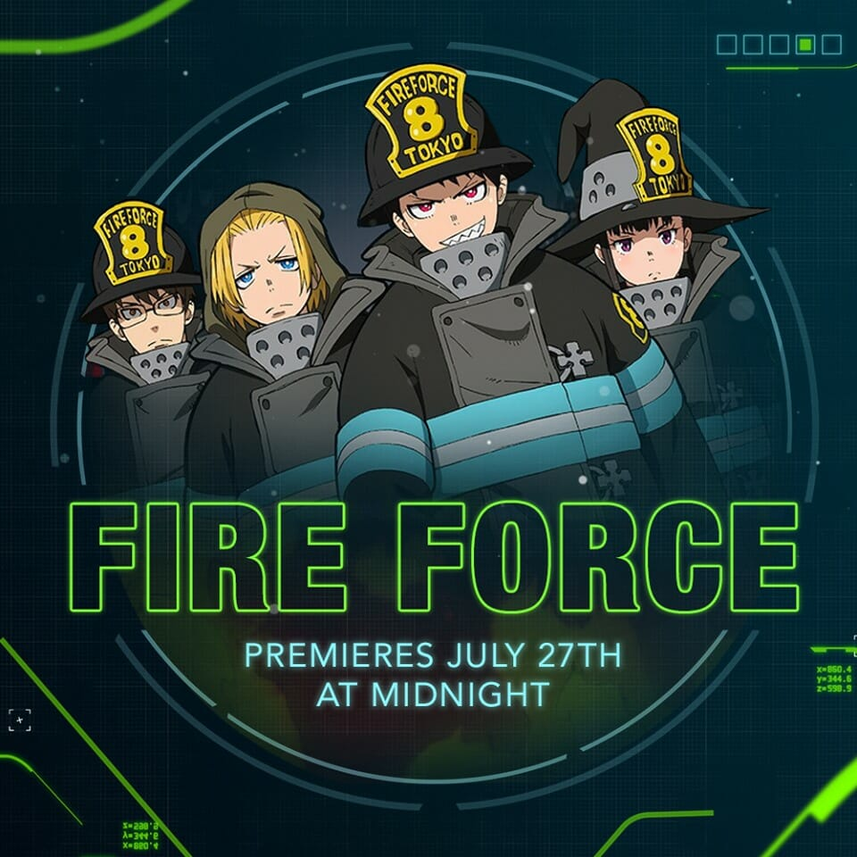 Fire Force Toonami Visual