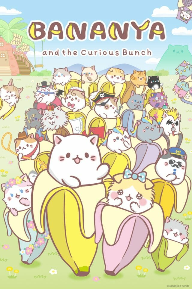 Bananya and the Curious Bunch Anime Visual