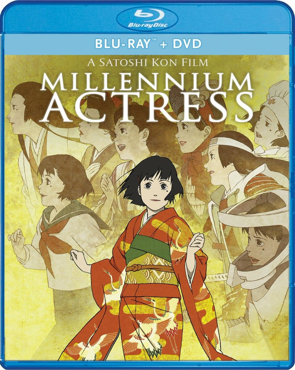 Millennium Actress Blu-Ray Boxart