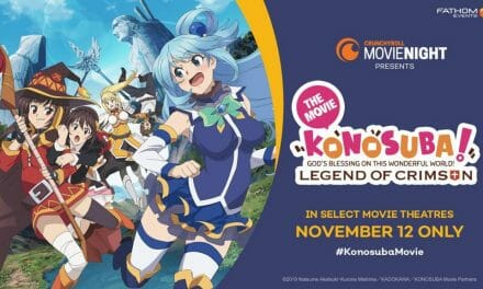 Konosuba Movie's US Run Adds Second Night on 11/14/2019