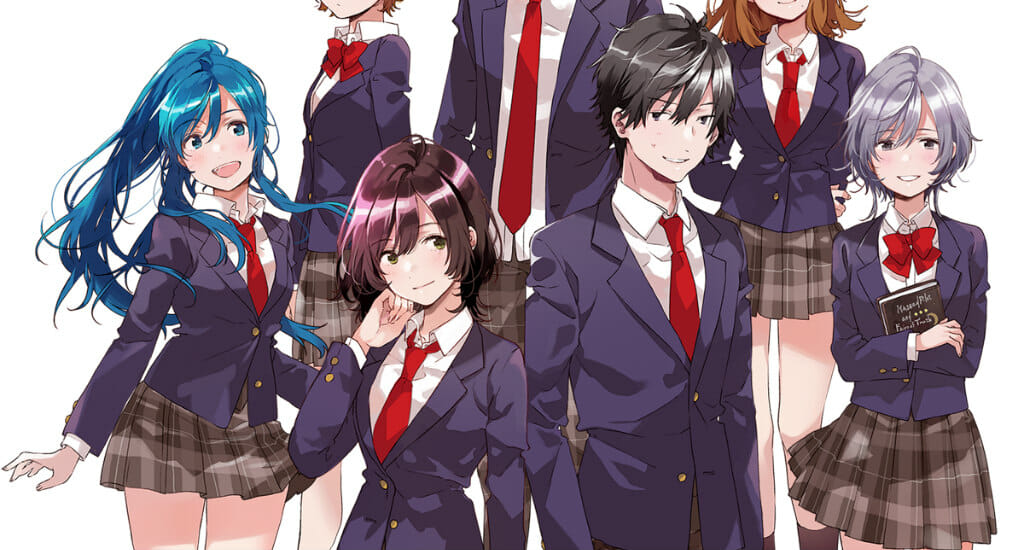 Bottom-Tier Character Tomozaki Gets Anime Adaptation