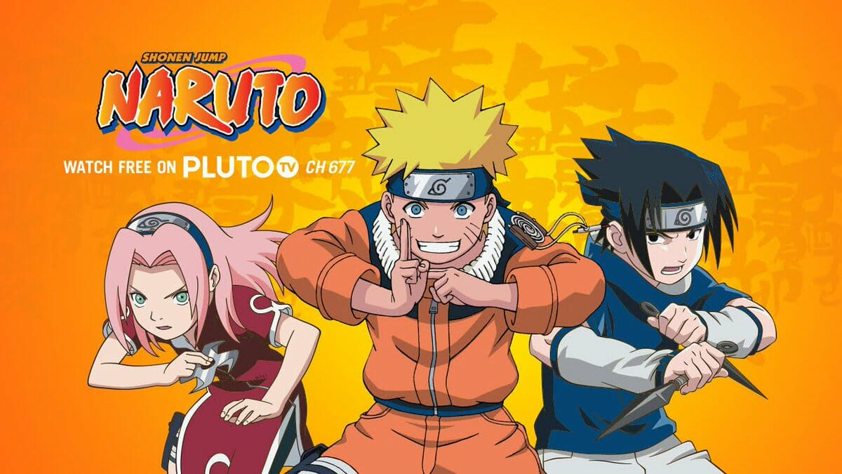 Naruto Pluto TV Visual