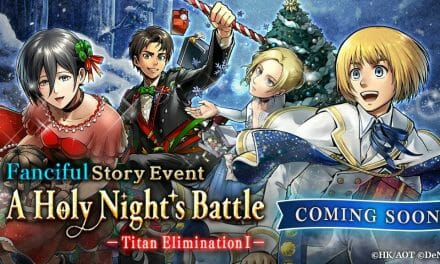 Attack on Titan TACTICS Smartphone Game To Host Holiday-Themed In-Game Event