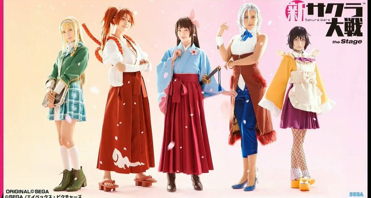 Sakura Wars (2019) The Stage Theatrical Show to Be Held in Winter 2020